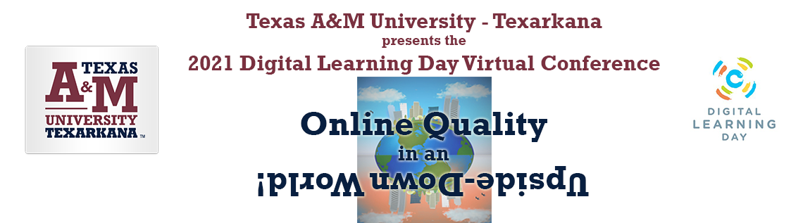 Digital Learning Day Virtual Conference: Online Excellence in an iplɹoM uʍop-ǝpᴉsd∩