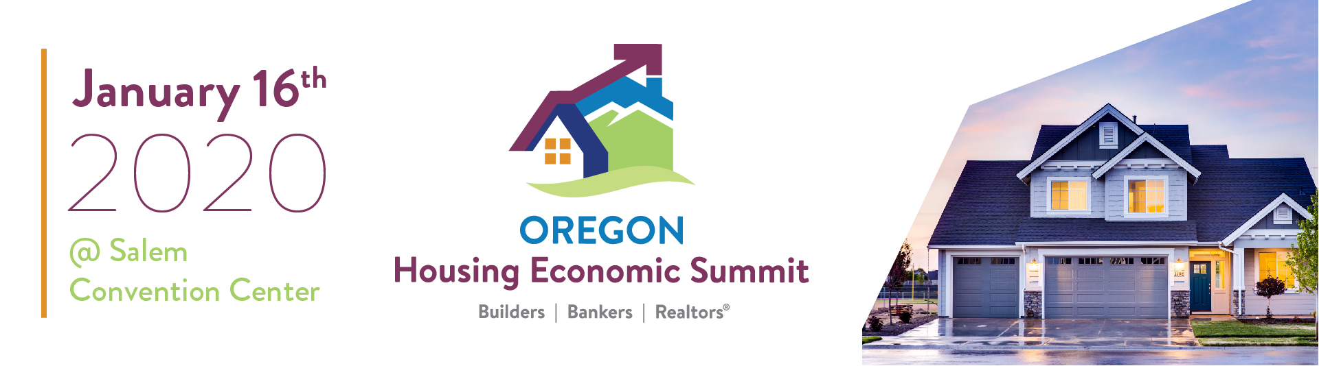 Oregon Housing Economic Summit Banner