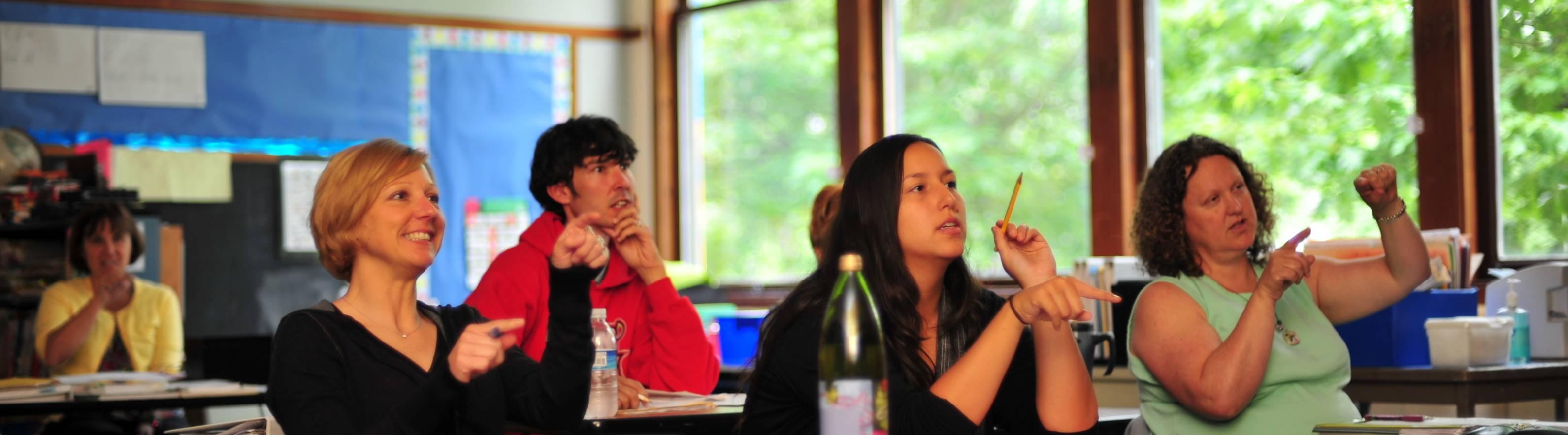 SIL Comprehensive Class - Hamlin Robinson School - Seattle, WA