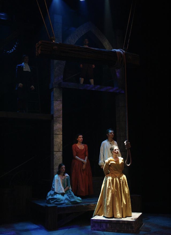 MIDNIGHT AND  MOLL FLANDERS - Featured Production by University Wisconsin - Parkside