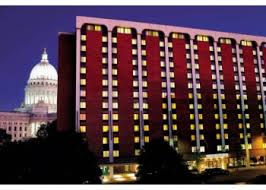The Madison Concourse Hotel at Night
