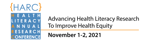 2021 Health Literacy Annual Research Conference