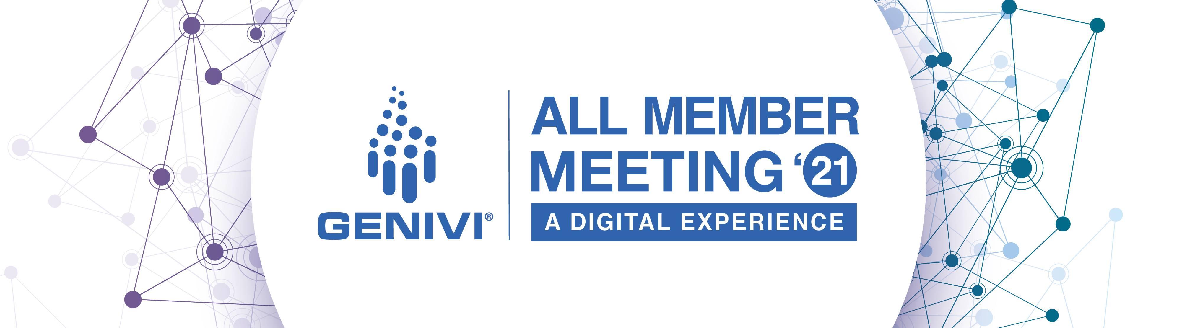 GENIVI Fall Virtual All Member Meeting