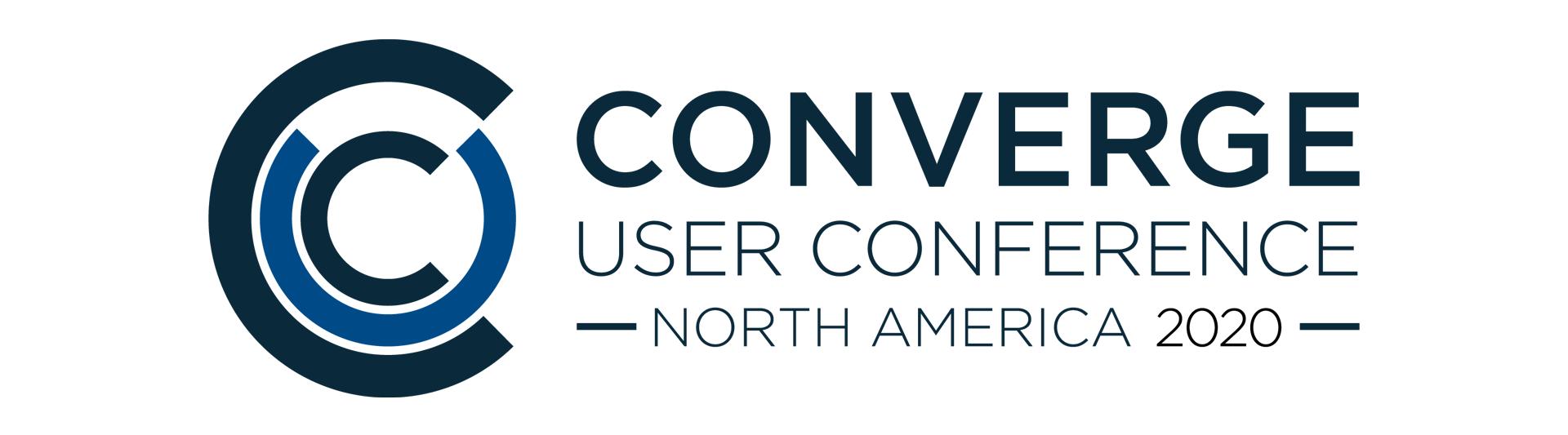 2020 CONVERGE User Conference-North America
